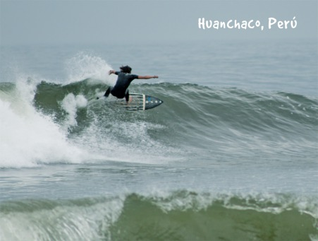 Fair Trade Photo Greeting Card Colour image, Horizontal, Peru, Sea, South America, Sport, Surf, Surfer
