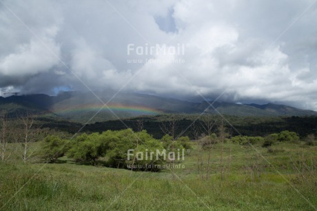 Fair Trade Photo Clouds, Colour image, Horizontal, Peru, Rainbow, Rural, Scenic, Sky, South America, Travel