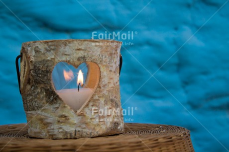 Fair Trade Photo Candle, Christmas, Colour image, Condolence/Sympathy, Flame, Heart, Horizontal, Love, Peru, South America, Thinking of you