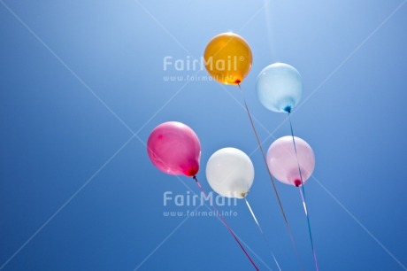 Fair Trade Photo Balloon, Birthday, Colour image, Colourful, Day, Horizontal, Invitation, Multi-coloured, Outdoor, Party, Peru, Seasons, Sky, South America, Summer