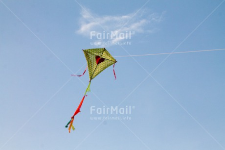 Fair Trade Photo Colour image, Freedom, Heart, Holiday, Kite, Peru, Sky, South America, Summer