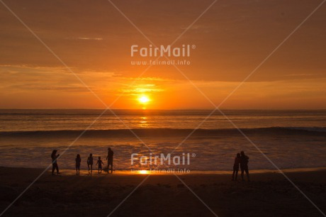 Fair Trade Photo Activity, Colour image, Emotions, Happiness, Horizontal, Outdoor, Peru, Playing, Sea, South America, Summer, Sunset