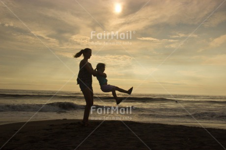 Fair Trade Photo Balloon, Colour image, Emotions, Happiness, Horizontal, Peru, Shooting style, Silhouette, South America, Sunset