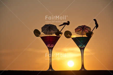 Fair Trade Photo Beach, Cocktail, Colour image, Holiday, Horizontal, Invitation, Love, Marriage, Party, Relax, Sea, Summer, Sunset, Travel, Valentines day, Wedding