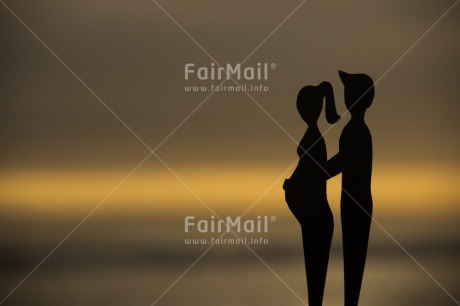 Fair Trade Photo Birth, Colour image, Horizontal, New baby, Peru, Pregnant, South America, Sunset, Together