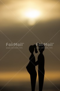 Fair Trade Photo Birth, Colour image, New baby, Peru, Pregnant, South America, Sunset, Together, Vertical