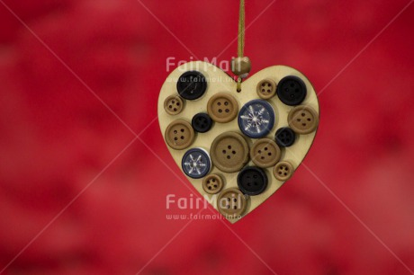 Fair Trade Photo Button, Heart, Love, Valentines day