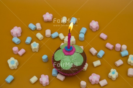 Fair Trade Photo Birthday, Cake, Candle, Colour image, Cupcake, Party, Peru, South America, Sweets