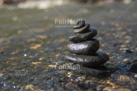 Fair Trade Photo Balance, Closeup, Colour image, Condolence/Sympathy, Horizontal, Peace, Peru, River, Shooting style, South America, Spirituality, Stone, Sustainability, Values, Water, Wellness