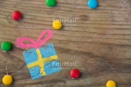 Fair Trade Photo Birthday, Colour image, Gift, Horizontal, Invitation, Party, Peru, South America, Sweets