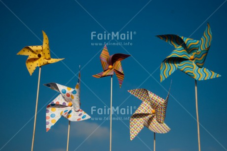 Fair Trade Photo Birthday, Colour image, Horizontal, Party, Peru, Sky, South America, Summer, Windmill