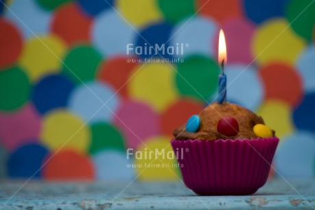 Fair Trade Photo Activity, Balloon, Birthday, Cake, Candle, Celebrating, Colour image, Cupcake, Horizontal, Multi-coloured, Peru, South America, Sweets, Table