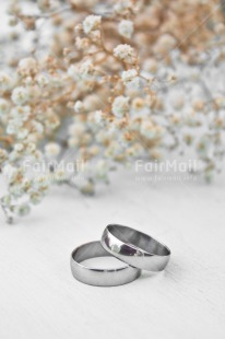 Fair Trade Photo Colour image, Flowers, Love, Marriage, Peru, Ring, Silver, South America, Two, Vertical, Wedding