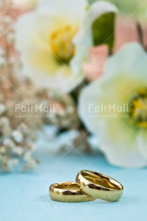 Fair Trade Photo Colour image, Flowers, Gold, Love, Marriage, Peru, Ring, South America, Two, Vertical, Wedding