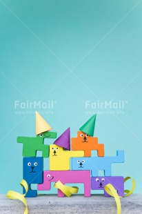 Fair Trade Photo Birthday, Blue, Chachapoyas, Colour image, Colourful, Friendship, Party, Peru, South America, Toy, Vertical