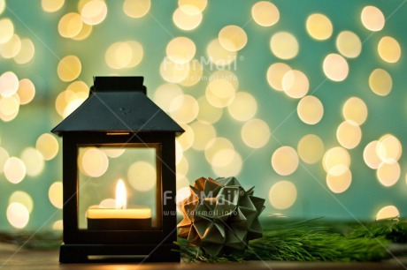 Fair Trade Photo Blue, Candle, Chachapoyas, Christmas, Christmas decoration, Colour image, Horizontal, Lantern, Light, Peru, Pine, South America