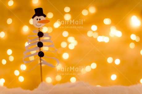 Fair Trade Photo Adjective, Christmas, Christmas decoration, Colour, Colour image, Horizontal, Light, Nature, Object, Place, Snowman, South America, Yellow