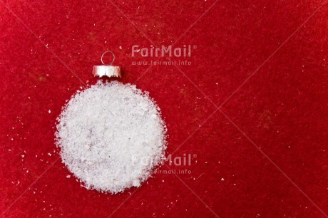 Fair Trade Photo Adjective, Ball, Christmas, Christmas ball, Christmas decoration, Colour, Colour image, Horizontal, Object, Place, Red, Snow, Snowflake, South America