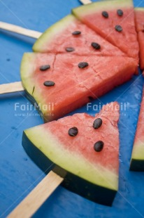 Fair Trade Photo Activity, Blue, Colour, Colour image, Dreaming, Dreams, Emotions, Food, Food and alimentation, Fresh, Fruit, Happiness, Object, Peru, Place, Red, Seasons, Seed, South America, Summer, Watermelon
