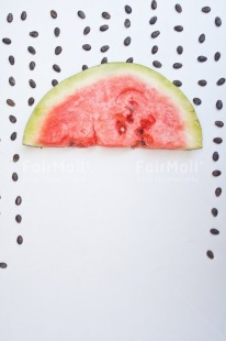 Fair Trade Photo Activity, Colour, Colour image, Dreaming, Dreams, Emotions, Food, Food and alimentation, Fresh, Fruit, Happiness, Object, Peru, Place, Rain, Red, Seasons, Seed, South America, Summer, Watermelon, White