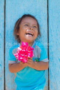 Fair Trade Photo Activity, Blue, Child, Colour image, Emotions, Fathers day, Flower, Girl, Happiness, Happy, Joy, Love, Mothers day, New beginning, New home, People, Peru, Pink, Sister, Smile, Smiling, Sorry, South America, Strength, Tarapoto travel, Thank you, Thinking of you, Vertical