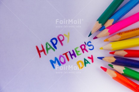 Fair Trade Photo Activity, Colour image, Crayon, Desk, Drawing, Horizontal, Mothers day, Multi-coloured, Peru, South America, Text