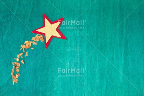 Fair Trade Photo Christmas, Colour image, Green, Horizontal, Indoor, Peru, Red, Seasons, South America, Star, Winter