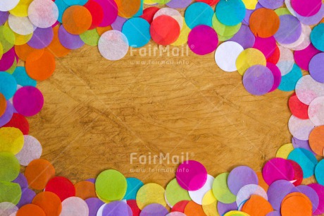 Fair Trade Photo Activity, Birthday, Celebrating, Colour image, Colourful, Confetti, Horizontal, Indoor, Multi-coloured, Peru, South America, Table, Wood