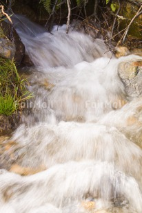 Fair Trade Photo Colour image, Condolence/Sympathy, Day, Nature, Outdoor, Peru, South America, Vertical, Water, Waterfall