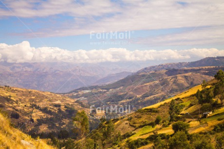 Fair Trade Photo Colour image, Day, Horizontal, Landscape, Mountain, Nature, Outdoor, Peru, South America