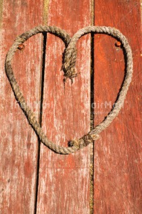 Fair Trade Photo Colour image, Day, Fathers day, Heart, Love, Mothers day, Outdoor, Peru, Rope, Sea, South America, Table, Valentines day, Vertical, Wood