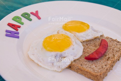 Fair Trade Photo Activity, Birthday, Colour image, Eating, Egg, Emotions, Food and alimentation, Happiness, Happy, Horizontal, Peru, Plate, Smile, Smiling, South America