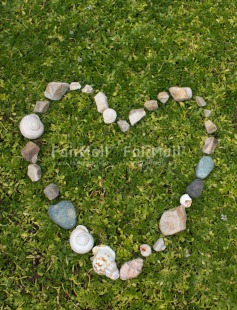 Fair Trade Photo Colour image, Heart, Love, Mothers day, Peru, Shell, South America, Stone, Valentines day, Vertical