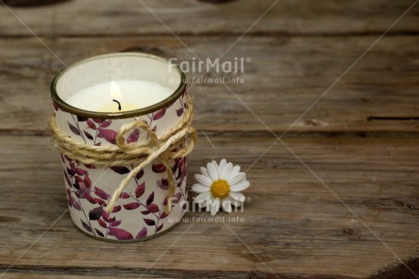 Fair Trade Photo Candle, Condolence/Sympathy, Flame, Mothers day, Thinking of you