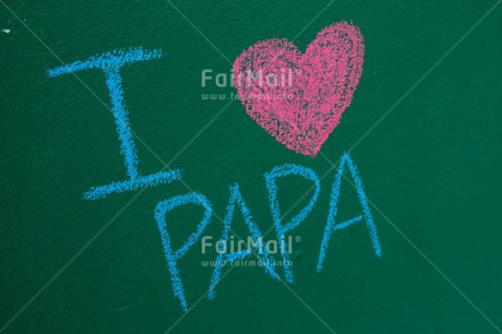 Fair Trade Photo Colour image, Fathers day, Heart, Horizontal, Letter, Peru, South America