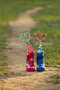 Fair Trade Photo Boot, Colour image, Cute, Friendship, Heart, Love, Peru, Rural, South America, Star, Together, Valentines day, Vertical