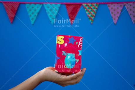 Fair Trade Photo Activity, Birthday, Colour image, Flag, Gift, Giving, Hand, Horizontal, Invitation, Party, Peru, South America