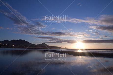 Fair Trade Photo Colour image, Condolence/Sympathy, Horizontal, Light, Peru, Sky, South America, Spirituality, Sunset, Water