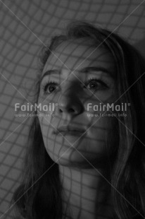 Fair Trade Photo Black and white, One girl, People, Peru, Portrait headshot, Shooting style, South America, Vertical