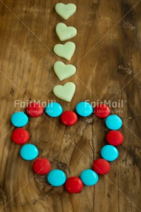 Fair Trade Photo Chocolate, Colour image, Colourful, Heart, Love, Peru, South America, Sweets, Valentines day, Vertical