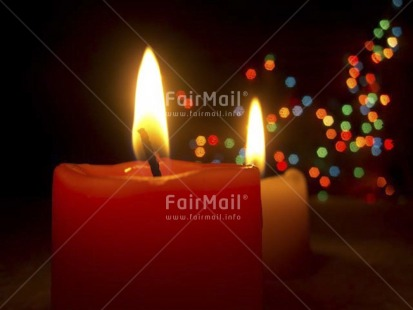 Fair Trade Photo Candle, Christmas, Colour image, Flame, Horizontal, Indoor, Light, Night, Peru, Red, South America, Studio