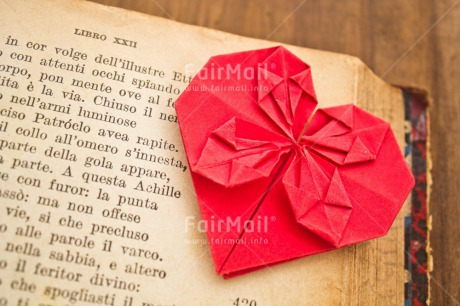 Fair Trade Photo Book, Colour image, Heart, Horizontal, Love, Mothers day, Origami, Peru, Red, South America, Text, Thinking of you, Valentines day