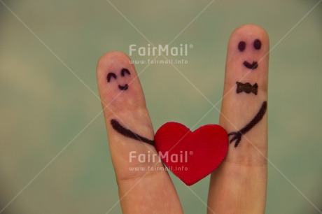 Fair Trade Photo Colour image, Finger, Funny, Hand, Heart, Horizontal, Love, Marriage, Peru, Red, South America, Together, Valentines day, Wedding