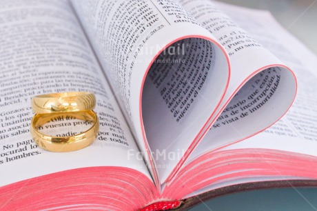 Fair Trade Photo Bible, Book, Colour image, Couple, Gold, Heart, Horizontal, Love, Marriage, Peru, Ring, South America, Together, Wedding