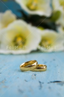 Fair Trade Photo Colour image, Flowers, Gold, Love, Marriage, Peru, Ring, Silver, South America, Vertical, Wedding, White
