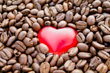 Fair Trade Photo Coffee, Colour image, Fathers day, Food and alimentation, Heart, Horizontal, Love, Mothers day, Peru, Red, South America, Thank you, Thinking of you, Valentines day