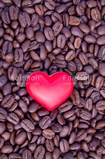 Fair Trade Photo Coffee, Colour image, Fathers day, Food and alimentation, Heart, Love, Mothers day, Peru, Red, South America, Thank you, Thinking of you, Valentines day, Vertical