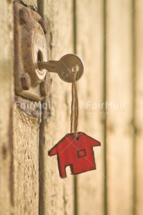Fair Trade Photo Colour image, Door, Home, Key, Moving, Peru, Red, South America, Vertical, Welcome home