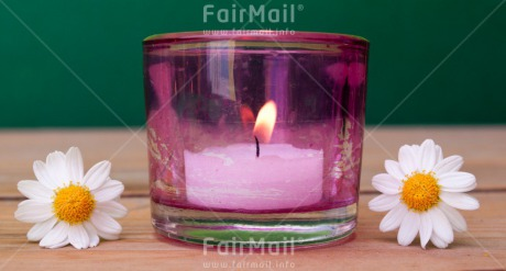 Fair Trade Photo Candle, Closeup, Colour image, Condolence/Sympathy, Horizontal, Peru, Shooting style, South America