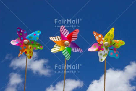 Fair Trade Photo Birthday, Clouds, Colour image, Holiday, Horizontal, Invitation, Party, Peru, Sky, South America, Summer, Windmill